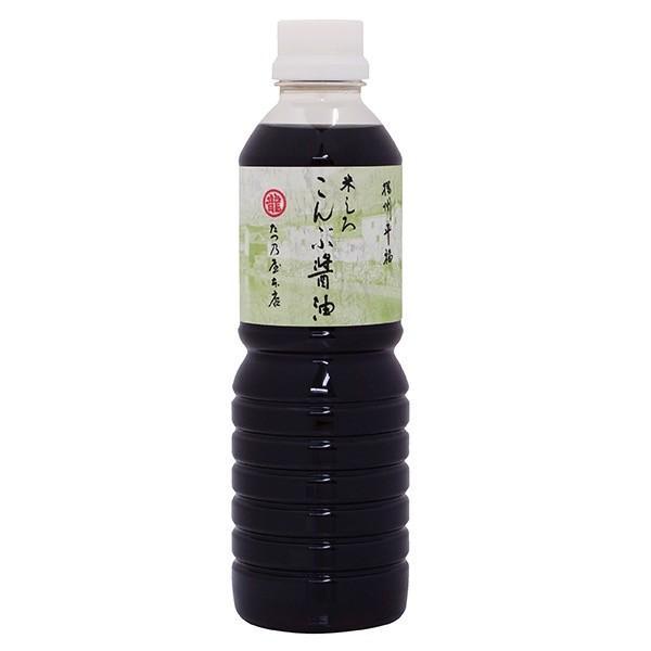 たつ乃屋本店 米しろこんぶ醤油 500ml ペットボトル 昆布しょうゆ 【のし・包装不可】