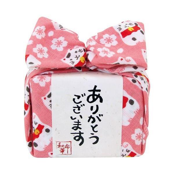 内祝い 内祝 お返し ハンカチ お菓子 ギフト セット キャンディー 飴玉 あめはん 桜と招き猫 THA-002-P (56) 【形状の為、のし・包装不可】