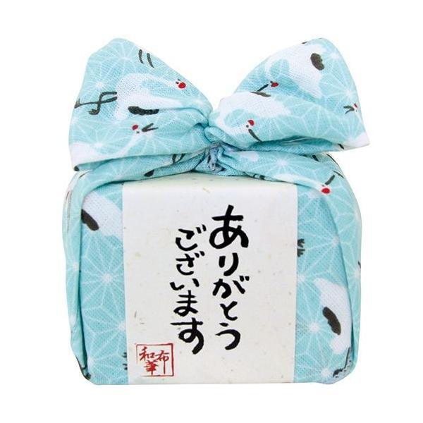 内祝い 内祝 お返し ハンカチ お菓子 ギフト セット キャンディー 飴玉 あめはん 麻の葉に鶴 THA-003-P (56) 【形状の為、のし・包装不可】