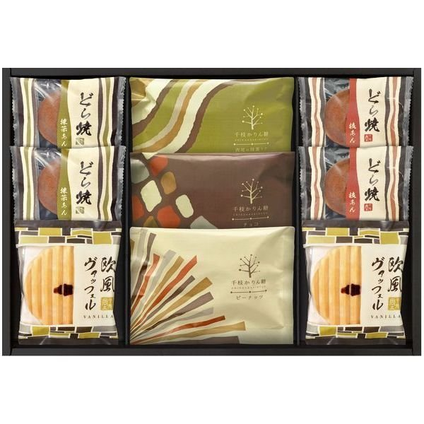 内祝い 内祝 お返し スイーツ ギフト セット 千枝かりん糖 どら焼き 和菓子 詰め合わせ KR-20 (14)