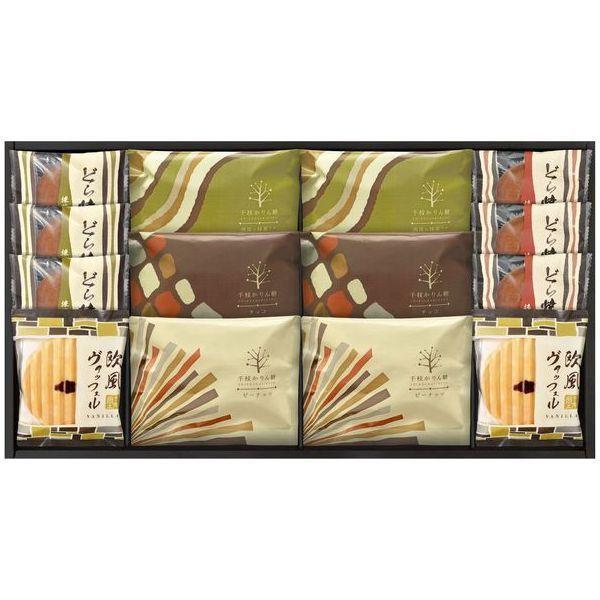 内祝い 内祝 お返し スイーツ ギフト セット 千枝かりん糖 どら焼き 和菓子 詰め合わせ KR-30 (12)