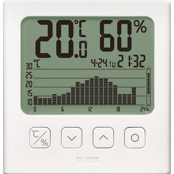 内祝い 内祝 お返し 温度計 湿度計 デジタル時計 タニタ グラフ付き デジタル 温湿度計 TT-581 (12)