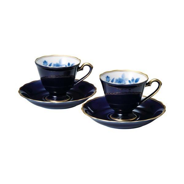 内祝い 内祝 お返し 食器 和食器 おしゃれ 陶器 食器セット 香蘭社 サムシングブルー ペア碗皿 R488-2HQ (15)