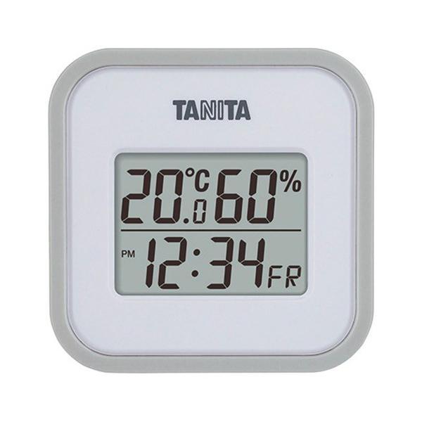 内祝い 内祝 お返し 温度計 湿度計 タニタ デジタル 温湿度計 グレー TT-558-GY (24)