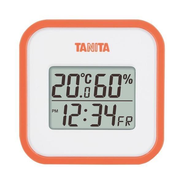 内祝い 内祝 お返し 温度計 湿度計 タニタ デジタル 温湿度計 オレンジ TT-558-OR (24)
