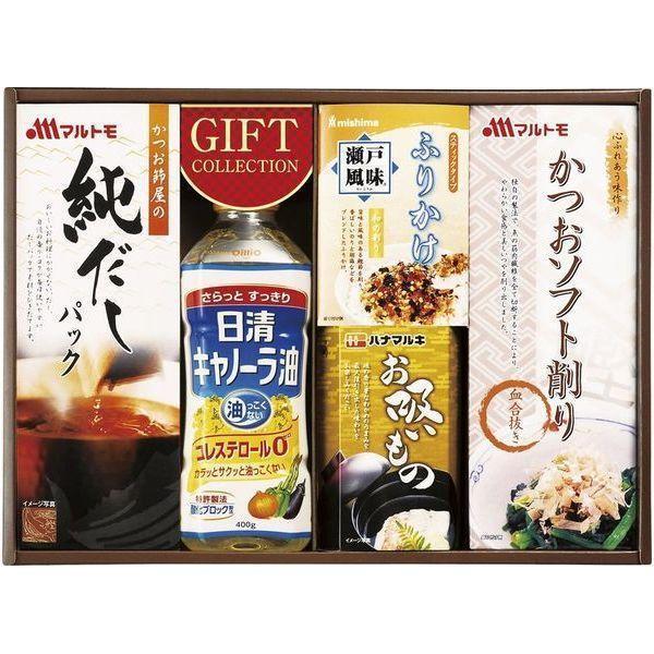 内祝い 内祝 お返し 日清 キャノーラ油 調味料 ギフト セット 和風 食品 詰合せ YN-25R (16)