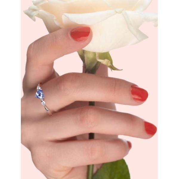 特別奉仕品 ティファニー命名の希少宝石 プラチナタ ンザナイトデザインリング RR-3424 12月誕生石|japangold|07