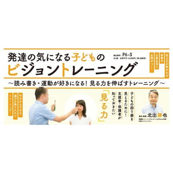 発達の気になる子どものビジョントレーニング 療育 パーカイトリーブロック F6-S 全3巻|japanlaim0418