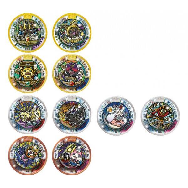 妖怪ウォッチ ヨロズマート限定 妖怪メダルトレジャー ヨロズフェスティバル BOX 10パック入り|japanyokai-store|02