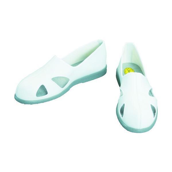 シモン 静電作業靴 サンダルタイプ CA-60 23.5cm CA-60-23.5