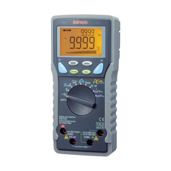 SANWA 真の実効値対応デジタルマルチメータ パソコン接続型 PC710