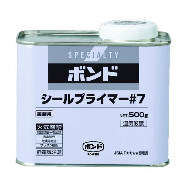 (運賃見積り)(直送品)コニシ ボンドシールプライマー#7 500g(缶) 60337