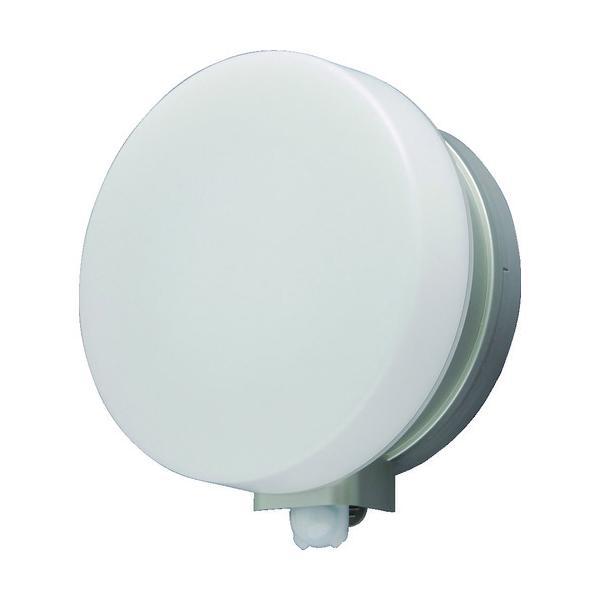 IRIS 乾電池式LEDセンサーライト ウォールタイプ 丸型 白色 BOS-WN1M-WS