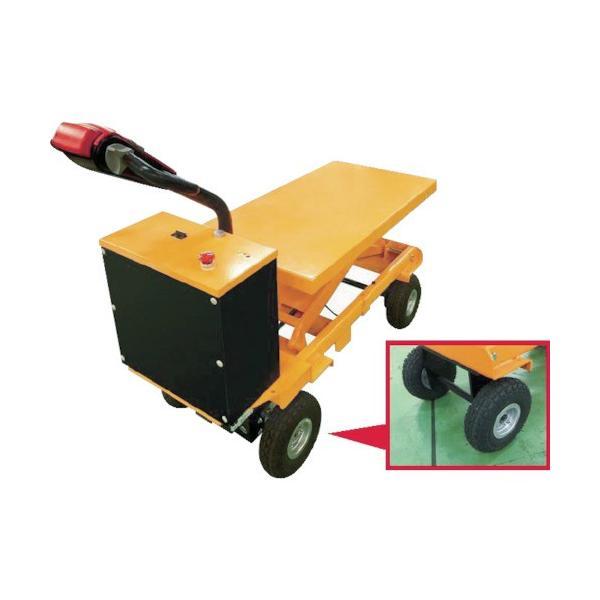 (運賃見積り)(直送品)ビシャモン 電動走行昇降台車 BX75A BX75A