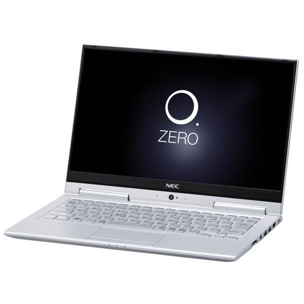 NEC PC-HZ550GAS ノートパソコン LAVIE Hybrid ZERO ムーンシルバー [13.3型 /intel Core i5 /SSD:256GB /メモリ:4GB /2017年2月モデル]の画像
