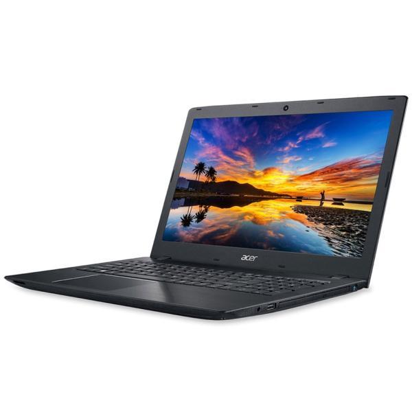 ACER E5-576-F34D/KF ノートパソコン Aspire E 15 オブシディアンブラック [15.6型 /intel Core i3 /HDD:500GB /メモリ:4GB /2018年11月モデル]の画像