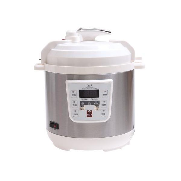 D&S 家庭用マイコン電気圧力鍋 2.5L 簡単に本格圧力調理 STL-EC30|jcc-shop|06