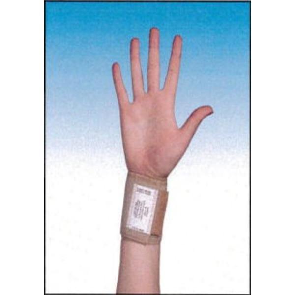 フリーサイズ リストサポート 手首保護 ひろげて巻き付ける装着しやすい