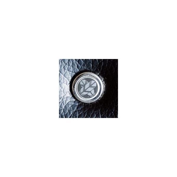 〔日本製〕家紋付 礼装多機能バッグ (小) 鍵付 丸に花菱 backs-21