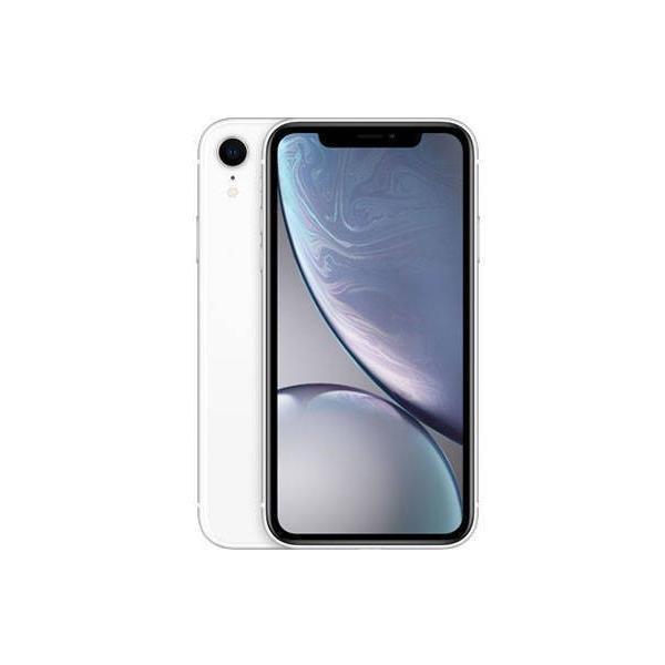 AppleiPhoneXR 64GB SIMフリー新品未使用 ホワイトMT032J/A A2106  正規SIMロック解除済 一括払い品 ガラスフィルムと透明ケースプレゼント♪|jcka-mobile