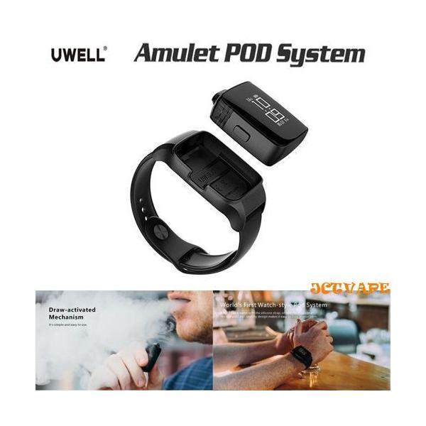 Uwell Amulet Pod System スマートウォッチ型 時計型 電子タバコ|jct-vape