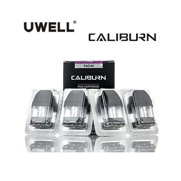Uwell Caliburn Replacement Pods 交換ポッド 2ml 4pcs 電子タバコ|jct-vape