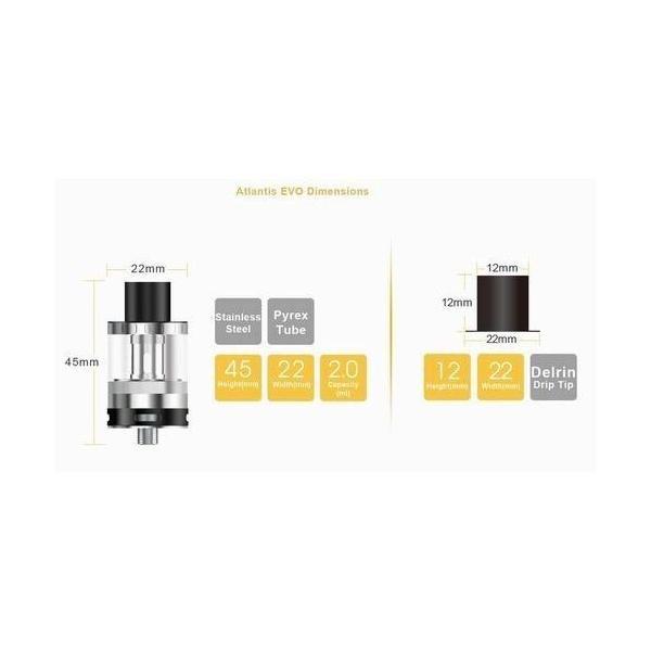Aspire EVO75 エボ  スターターキット  電子タバコ 正規代理店 18650 VTC5 電池 付|jct-vape|02