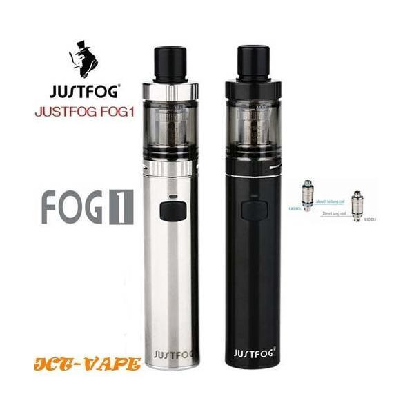 FOG1 JUSTFOG すぐに使えるリキッド付スターターキット 送料無料  電子タバコ|jct-vape