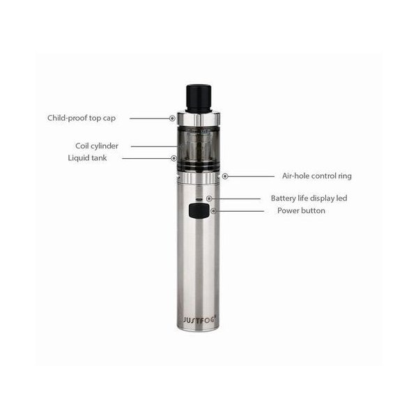 FOG1 JUSTFOG すぐに使えるリキッド付スターターキット 送料無料  電子タバコ|jct-vape|03