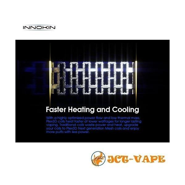 INNOKIN iSub PLEX 3D Coil 0.35Ω イノキン アイサブ 交換 コイル 電子タバコ VAPE|jct-vape|05