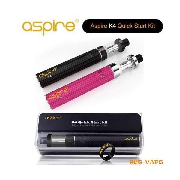 Aspire K4 アスパイア ベイプ  すぐに使えるリキッド付スターターキット 送料無料  電子タバコ 正規代理店|jct-vape