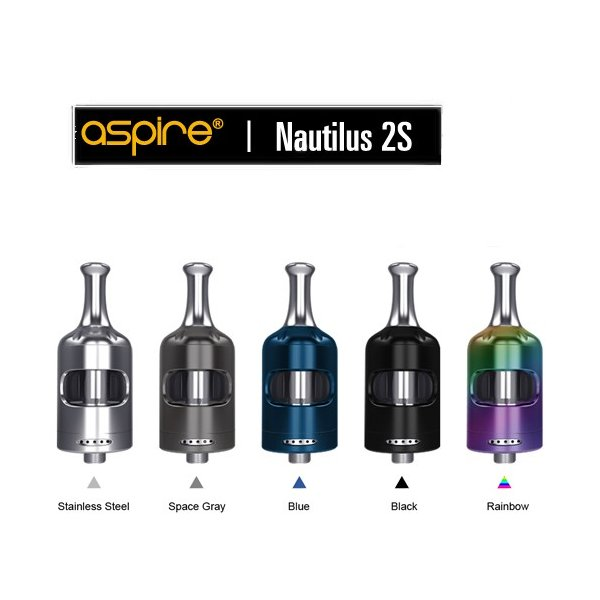 Aspire Nautilus2S Tank クリアロマイザー ノーチラス2S 電子タバコ|jct-vape