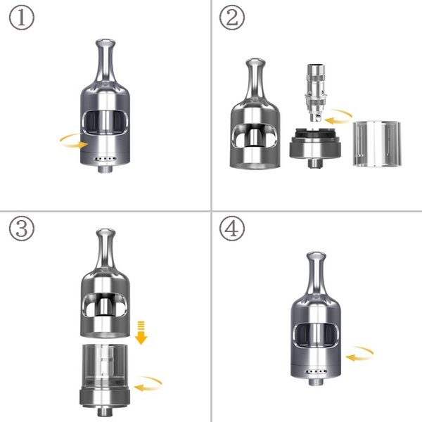 Aspire Nautilus2S Replacement coil 0.4ohm mesh 0.7ohm アスパイア ノーチラス2S  交換コイル 5個セット 電子タバコ jct-vape 06