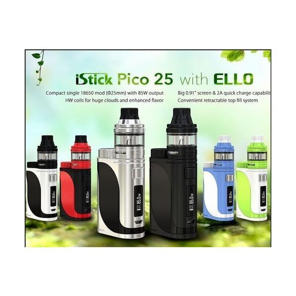 Eleaf iStick Pico25 スターターキット+バッテリーVTC4セット 送料無料  電子タバコ VAPE|jct-vape|07