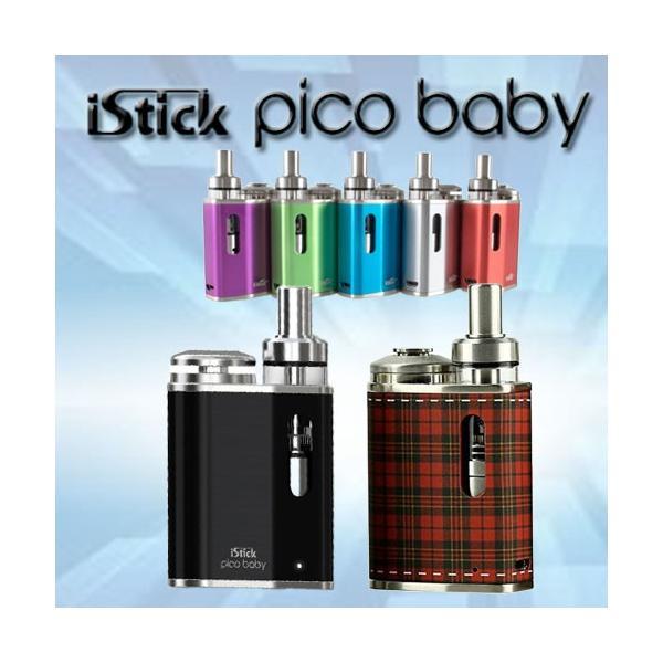 Eleaf iStick Pico baby Starter Kit  ピコ ベビー リキッド付 スターターキット 電子タバコ|jct-vape