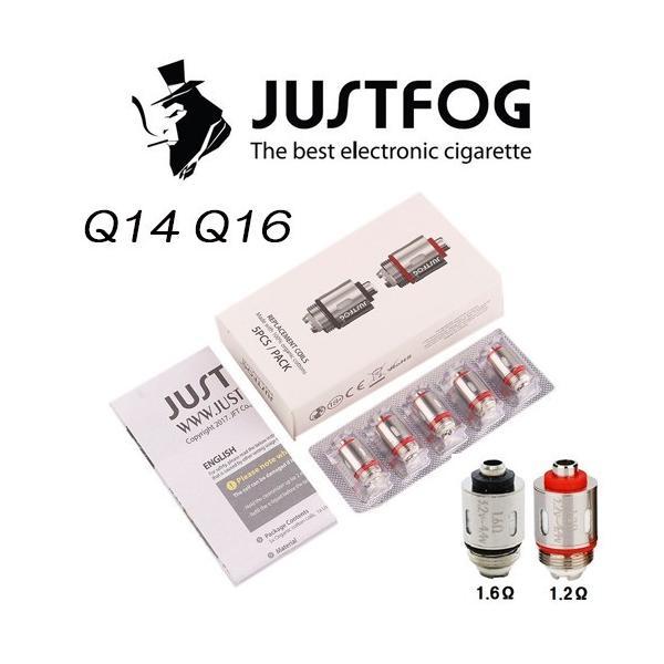 JUSTFOG Q14 Q16 P16 コイル ジャストフォグコイル 5個入り 正規品|jct-vape