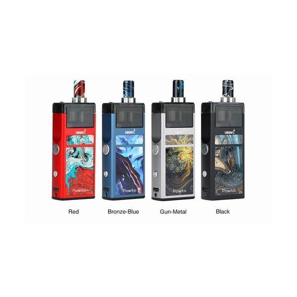 Smoant Pasito Pod Kit スターターキット RBA対応 ポッド 電子タバコ|jct-vape|02