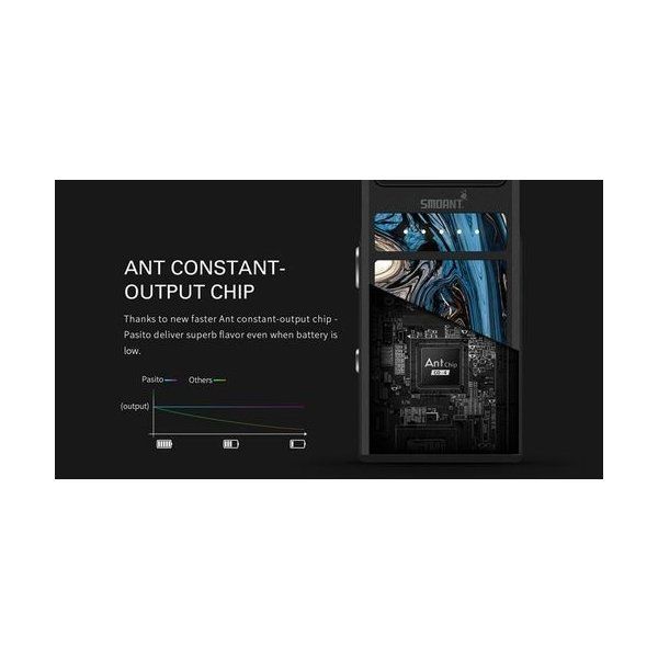 Smoant Pasito Pod Kit スターターキット RBA対応 ポッド 電子タバコ|jct-vape|13