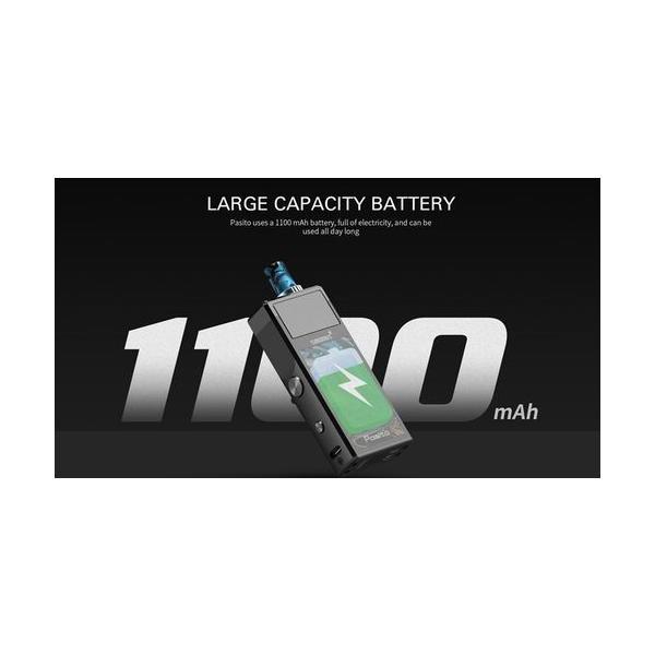 Smoant Pasito Pod Kit スターターキット RBA対応 ポッド 電子タバコ|jct-vape|16