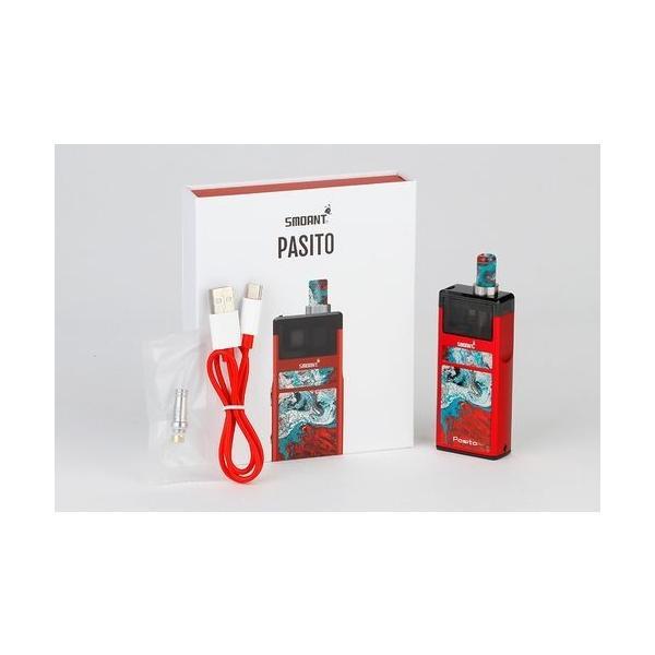 Smoant Pasito Pod Kit スターターキット RBA対応 ポッド 電子タバコ|jct-vape|18
