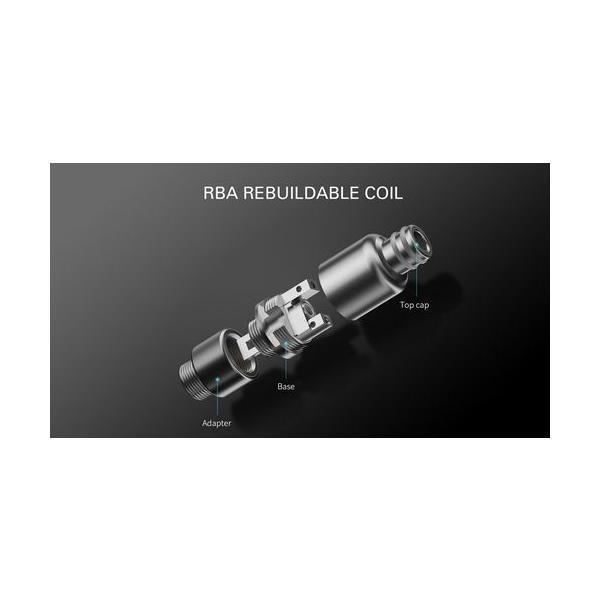 Smoant Pasito Pod Kit スターターキット RBA対応 ポッド 電子タバコ|jct-vape|09