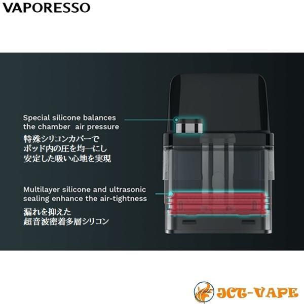 Vaporesso XROS Pod Kit 800mAh ベイパレッソ クロス ポッド スターターキット 電子タバコ VAPE jct-vape 05
