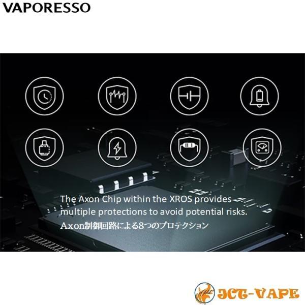 Vaporesso XROS Pod Kit 800mAh ベイパレッソ クロス ポッド スターターキット 電子タバコ VAPE jct-vape 07
