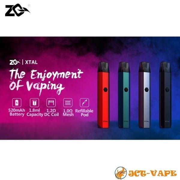 ZQ Xtal スターターキット ゼットキュー エクスタル クリスタル 電子タバコ VAPE|jct-vape|03