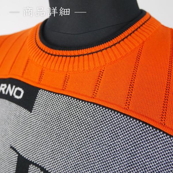 期間限定クーポン配布中 バーニヴァーノ BARNI VARNO コットンセーター (LL寸:メンズ) 2019春夏新作モデル 30%OFF/SALE|jeans-suehiro|03