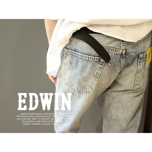 EDWIN エドウィン ハーフパンツ ショートパンツ デニムショーツ ショートデニム ジーンズ ベルト付き ED105 jeans-yamato 05