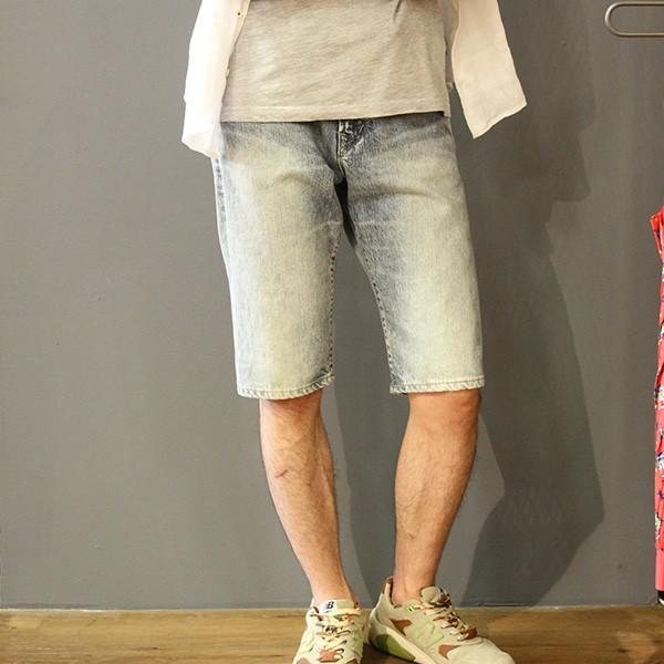 EDWIN エドウィン ハーフパンツ ショートパンツ デニムショーツ ショートデニム ジーンズ ベルト付き ED105 jeans-yamato 09