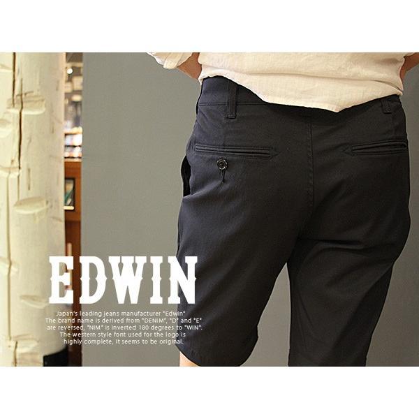EDWIN ジャージーズ エドウィン ジャージーズ JERSEYS チノショーツ ハーフパンツ ショートパンツ チノパンツ 無地 ERK33S jeans-yamato 04