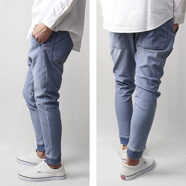 エドウィン EDWIN イージーパンツ FLE F.L.E INDIGO RIB テーパード ES738|jeans-yamato|03