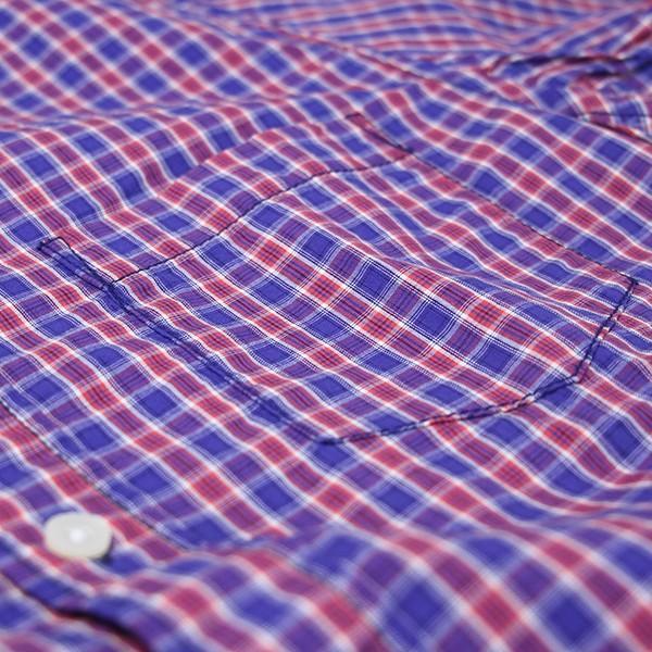 ネコポス対応 チェックシャツ メンズ チェックシャツ 半袖 KEARNEY HOUSE メンズ チェック ワークシャツ 半袖 シャツ レギュラー F5501|jeans-yamato|05